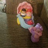 Fisher price little people arial and eric in Elgin, Illinois