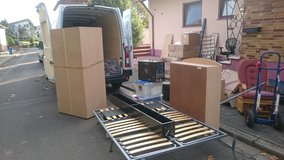 LOCAL HOUSE MOVES,  TRANSPORT, PICK UP AND DELIVERY in Ramstein, Germany