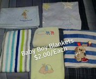 Baby Boy Blankets in Alamogordo, New Mexico