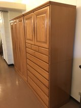 Wardrobe and Kimono Armoire in bookoo, US