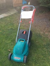 Bosch rotary lawnmower. in Lakenheath, UK