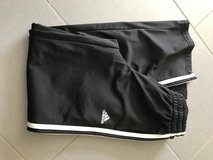 Boys black Adidas sweat pants in Ramstein, Germany