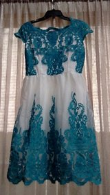 Pretty Blue and White Dress in CyFair, Texas