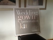 Wedding Gown Preservation Kit New in Box Davids Bridal Dress Storage $189 Retail in Beaufort, South Carolina