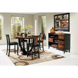 Coaster BOYER BLACK AMBER 4 PIECE COUNTER DINING ROOM SET in Beaufort, South Carolina