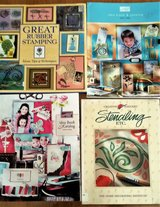 Stamping / Stenciling Books, new in St. Charles, Illinois