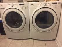whirlpool washer and dryer large capacity in Joliet, Illinois