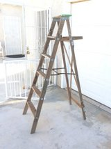 Wooden step ladder, 6foot in 29 Palms, California