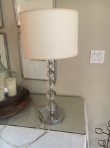 "Round crystal base lamp 29"" in Pensacola, Florida"