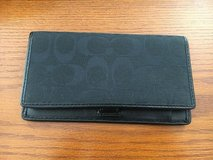 Coach Checkbook Holder From Full-Price Store in Shorewood, Illinois