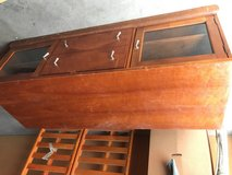 Solid Wooden vintage T.V stand Free in Vacaville, California