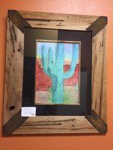 SAGUARO CACTUS & CUSTOM FRAME in 29 Palms, California