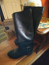 Women Size 8 Knee-High LEATHER BOOTS in Travis AFB, California