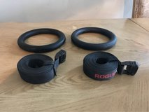 Rogue fitness rings in Fort Bliss, Texas