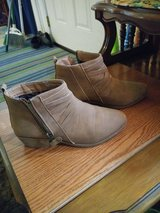 Women's Size 7/8 SUEDE Ankle BOOTS in Travis AFB, California