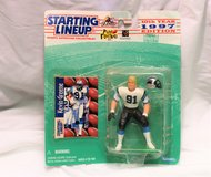 1997 Greene #91 Carolina Panthers Kenner Starting Line Up Action Figure NFL in Kingwood, Texas