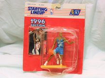 1996 Detroit Pistons Grant Hill #33 Kenner Starting Line Up Action Figure #68850 in Kingwood, Texas