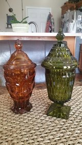 EXCELLENT CONDITION! Vintage Glass Candy Jars in Fort Campbell, Kentucky