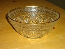 gold rimmed bowl in Glendale Heights, Illinois