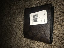 Mahogany/ Brown coach wallet in Fort Drum, New York
