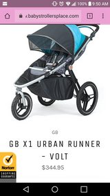 New in box GB jogging stroller in Tinley Park, Illinois