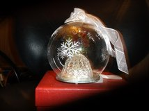 glass ball with wreath inside in Alamogordo, New Mexico