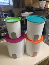 Tupperware Canisters in Okinawa, Japan