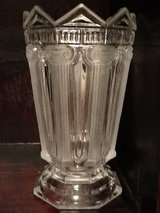 Grecian Frosted Crystal Vase in Fort Benning, Georgia