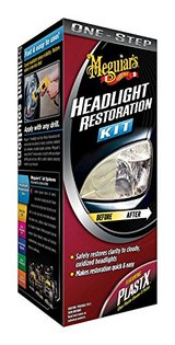 meguiars one step headlight restoration kit; new in Okinawa, Japan