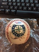 seattle mariners baseball; signed; autographed; ICHIRO in Okinawa, Japan