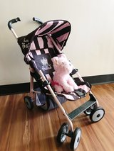 Juicy Couture Stroller/Puppy in Okinawa, Japan
