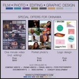 Film, Photo, Editing & Graphic Design in Okinawa, Japan
