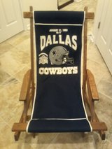 Dallas Cowboys chair in Fort Belvoir, Virginia