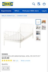 Toddler/Twin Bed Frame in Travis AFB, California