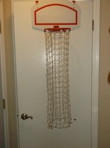 Basketball hoop hamper in Oswego, Illinois