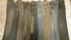 9 pair boys size 12 jeans in Fort Lewis, Washington