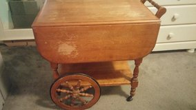 antique tea cart in Fort Lewis, Washington