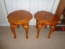 Pair of End Tables in Fort Rucker, Alabama