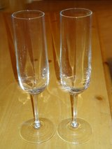 crystal champagne glasses in Glendale Heights, Illinois