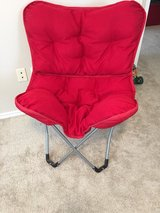 red chair in Sugar Land, Texas