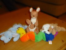 4 beanie babies, no ear tags in Bolingbrook, Illinois