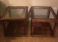 End tables with glass top in Cleveland, Texas