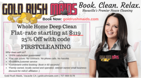 House Cleaning for Military and Vacaville Residents | Spring Time 25% Discount! in Vacaville, California