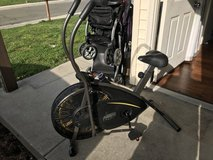 Stationary bike dual action in Vacaville, California