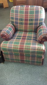 Plaid Side Chair in Naperville, Illinois
