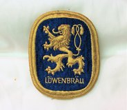 Vintage Lowenbrau Embroidered Patch Beer Brewery Delivery Bar Shot Jacket Coat in Kingwood, Texas