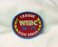 74-75 WIBC League High Series Women's International Bowling Congress Embroidered Patch in Houston, Texas