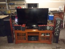 "Complete Home Theater (55"" HDTV, audio receiver, 7 speakers, TV stand) [will also sell pieces in... in Olympia, Washington"