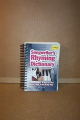 SONGWRITTER'S RHYMING DICTIONARY in Bartlett, Illinois