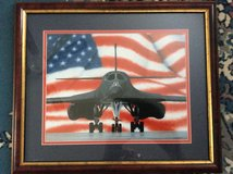 Art: B1b Bomber in Warner Robins, Georgia